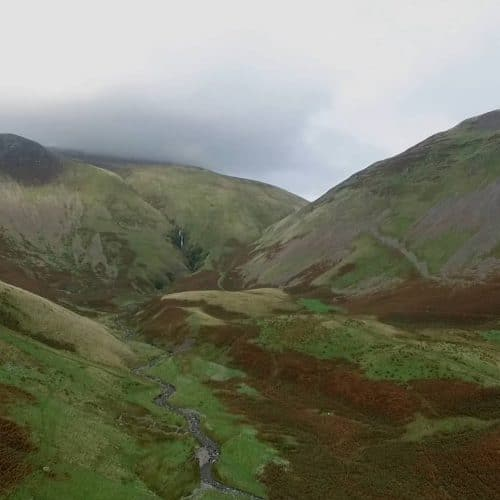 Cautley Spout, The Howgills, Cumbria, UK