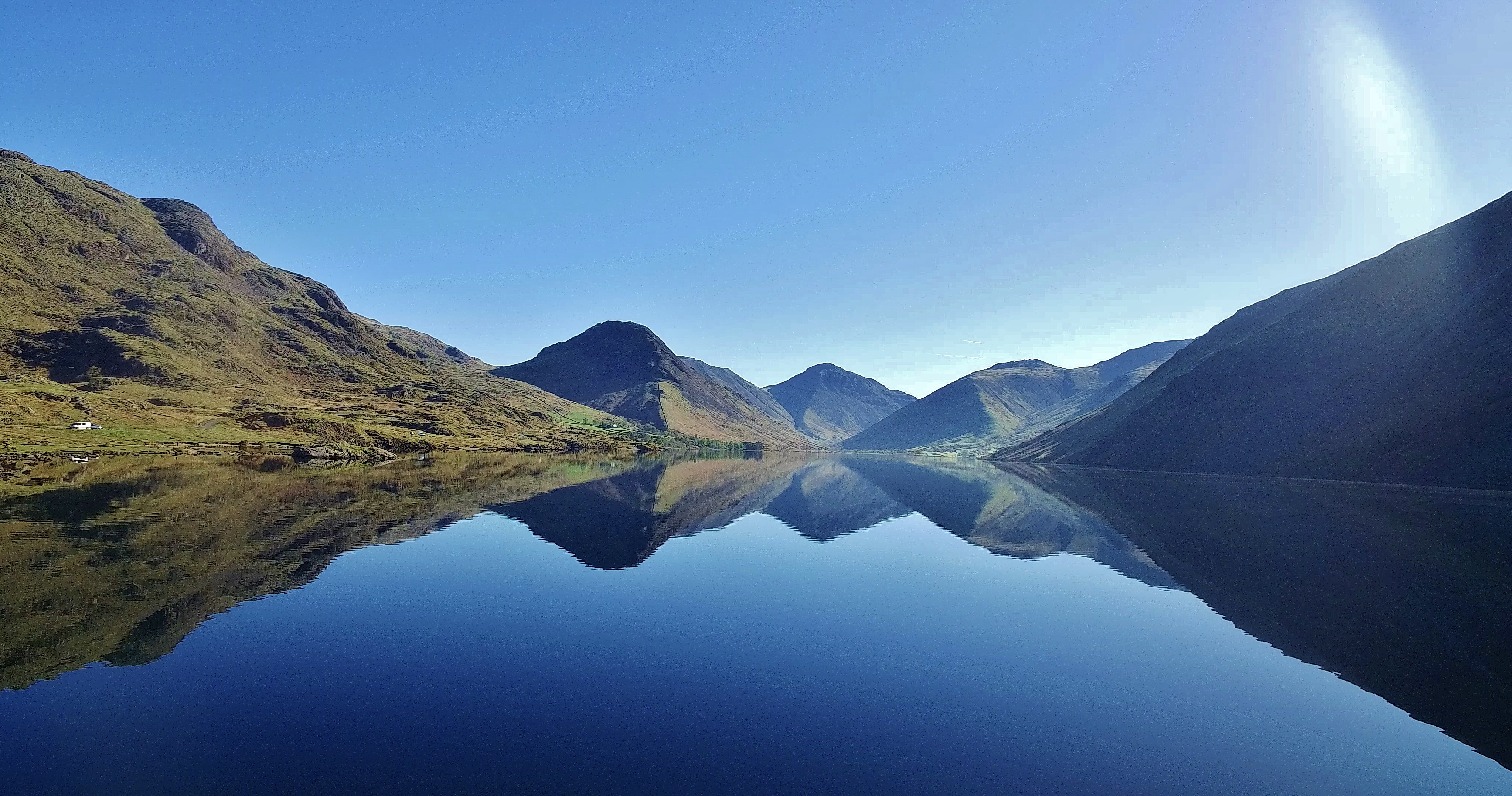 Wast Water Lake District National Park UK