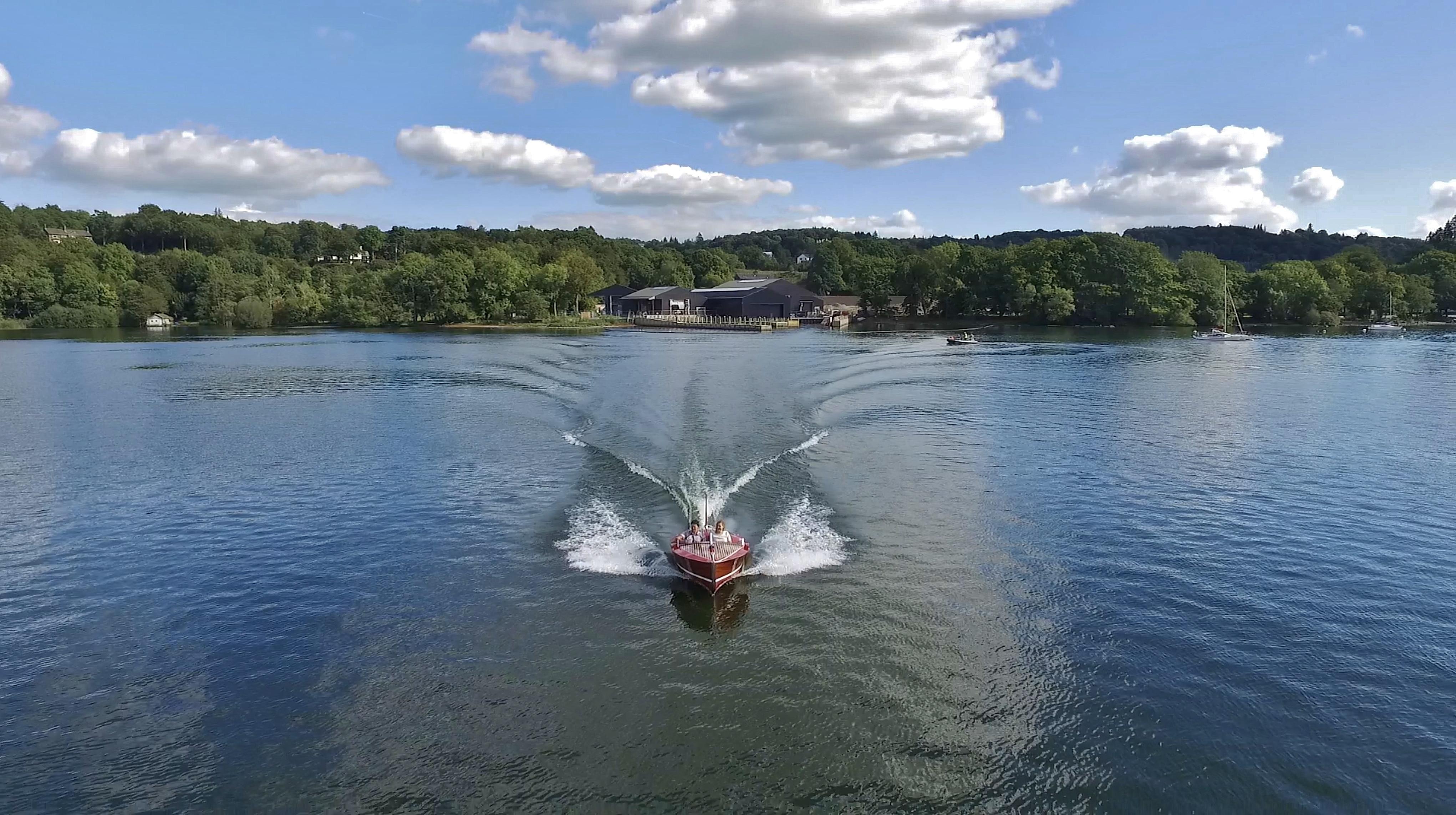 MV Jane Windermere Jetty