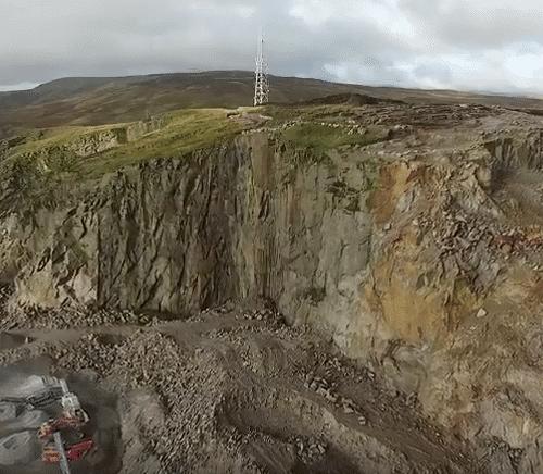 Quarry Shoot at Shap, Cumbria and Clitheroe, Lancashire