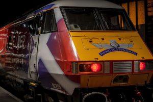 Filming LNER Flying Scotswoman