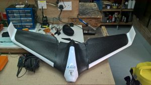 Stealth Surveying Delta Drone